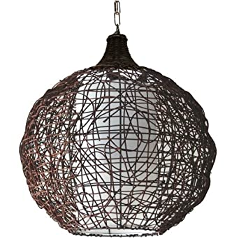 Seynave bompa suspension marron suspension amazon - Amazon luminaire suspension ...