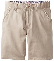 Genuine Big Girls\'  Twill Bermuda Shorts, Khaki, 14