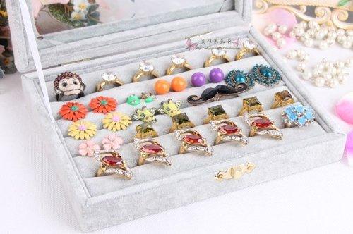 [Extras available: Polish jewellery case MONIKS ( descriptions ) original jewelry towel set