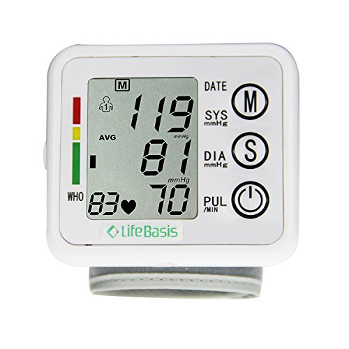 LifeBasis Basic Handgelenk Blutdruckmessgerät
