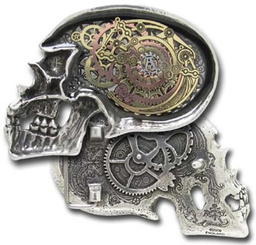 Alchemy Empire: Steampunk Anima Machinato Futurus Belt Buckle