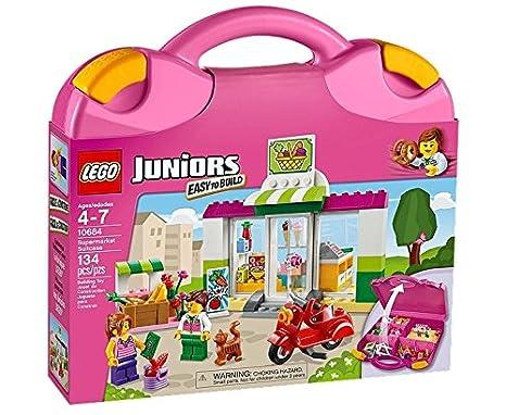 Lego Juniors - 10684 - Jeu De Construction - La Valise Supermarché