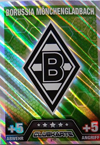 Match Attax 2014/2015 Clubkarte Borussia Mönchegladbach