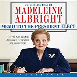 Memo to the President Elect Audiobook