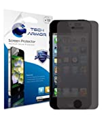 Tech Armor New Apple iPhone 5 Ultimate 4-Way, Premium 360 Degree Privacy Screen Protector with Lifetime Replacement Warranty [1-Pack] - Retail Packaging