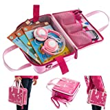 Ultimate Addons Pink Girls Kids Handbag Storage Case suitable for holding LeapFrog LeapReader