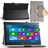 MoKo Slim-Fit Multi-angle Folio Cover Case For ASUS Transformer Pad VivoTab TF810 11.6 Inch Tablet BLACK (with...