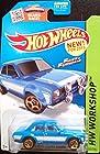 2015 Hot Wheels Fast & Furious '70 Ford Escort RS1600 221/250 blue