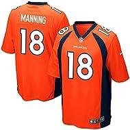 Denver Broncos Nike Youth Orange Peyton Manning #18 NFL On-Field Jersey