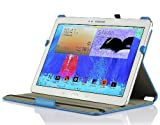 IVSO Slim-fit Stand Cover Case for Samsung Galaxy Tab Pro 12.2 Tablet - with Multi-Angle View and Auto Sleep/Wake Function (For Galaxy Tab Pro 12.2, Blue)