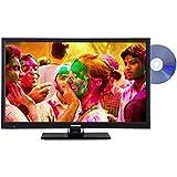 Telefunken L24H180I3D 61 cm (24 Zoll) Fernseher (HD-Ready, Triple Tuner, DVD-Player)