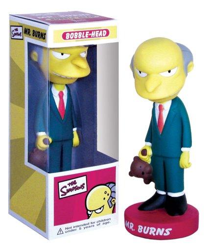 Buy Low Price Funko Mr. Burns Wacky Wobbler Figure (B000B8X0E4)