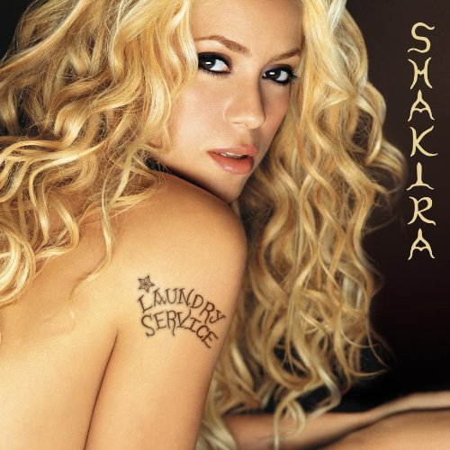 Original album cover of Laundry Service by Shakira