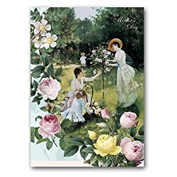 "Victorian Mother's Day - 5"" x 7"" Pop Up Mother's Day Greeting Card"