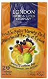 London Fruit and Herb Fruit N Spice Variety Pack 20 Teabags (Pack of 6, Total 120 Teabags)