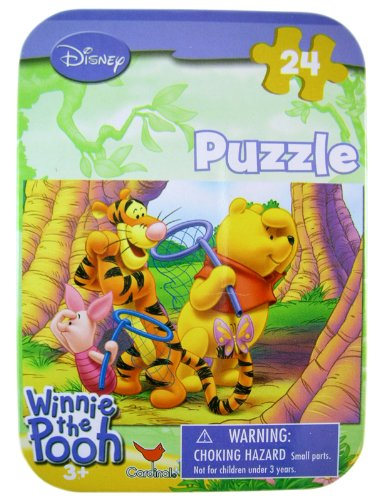 Winnie The Pooh Travel Puzzle Set - Mini Puzzle Set 24 Pieces - Image Varies - 1