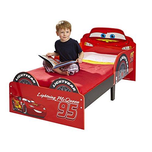 Disney Cars Lightning McQueen SnuggleTime Enfant en bas âge Lit + matelas entièrement suspendue