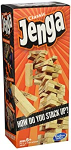 Jenga Classic Game from Hasbro