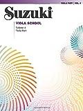 Suzuki Viola School, Volume 4: Viola Part