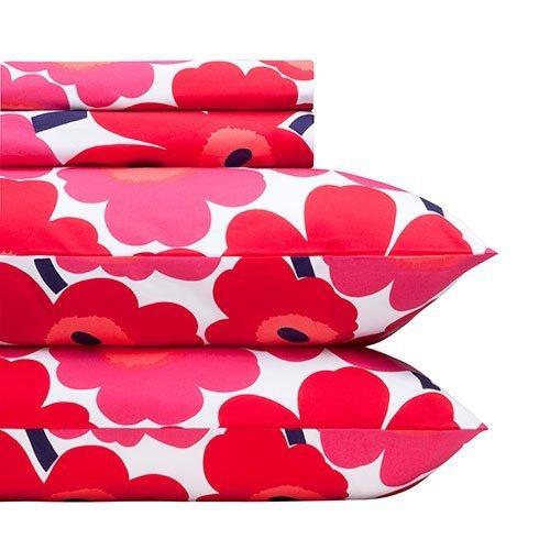 twin-xl-sheet-set-marimekko-unikko-red-by-marimekko