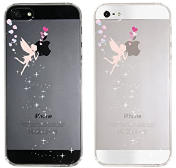 【iPhone5S】【iPhone5】【iPhone5sケース】【iPhone5ケース】【docomo】【au】【Soft Bank】【スマホケース】【クリアケース】【Clear Arts】【天使のキッス】 22-ip5-ca0071