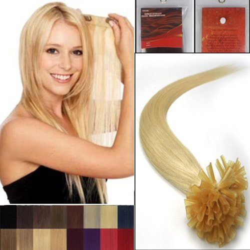16inches-100-strands-pre-bonded-nail-u-tip-100-remy-human-straight-hair-extensions-17-colors-613-lig