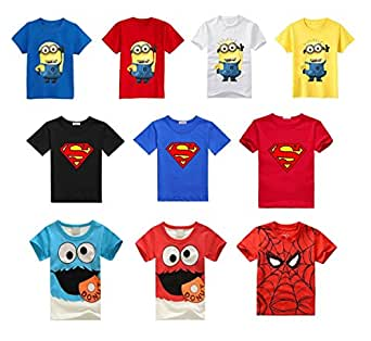 Buy Home Infant Toddlers Despicable Me 2 Minions Movie Cotton Short Sleeve Tee