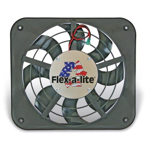 Flex-A-Lite 111 Lo-Profile S-Blade Electric Puller Fan