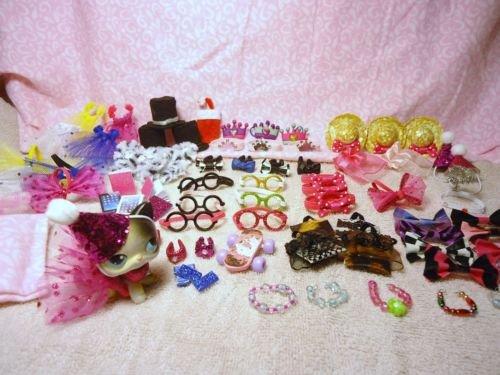 [Littlest Pet Shop LPS 12 RANDOM Accessories Clothes Lot of 12 Custom Made No Pet] (Homemade Kids Dog Costumes)