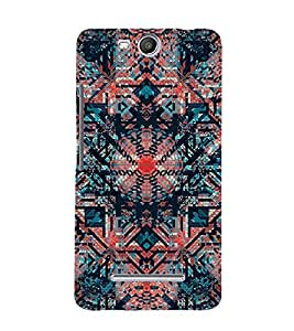 Abstract Painting 3D Hard Polycarbonate Designer Back Case Cover for Micromax Canvas Juice 3+ Q394 :: Micromax Canvas Juice 3Plus Q394