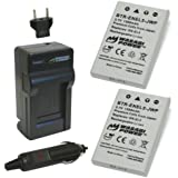 Wasabi Power Battery (2-Pack) and Charger for Nikon EN-EL5 and Nikon Coolpix 3700, 4200, 5200, 5900, 7900, P3, P4, P80, P90, P100, P500, P510, P520, P530, P5000, P5100, P6000, S10