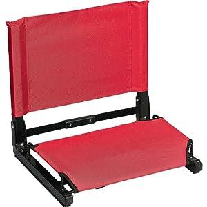 Patented Stadium Chair Bleacher Seat