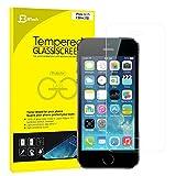 JETech iPhone SE 5s 5 Pellicola Protettiva ultra resistente in vetro temperato Screen Protector Film per Apple iPhone SE/5/5S/5C - 0313