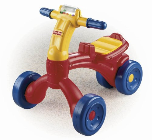 Why Choose The Fisher-Price Bright Beginnings Ready Steady Ride-On Trike