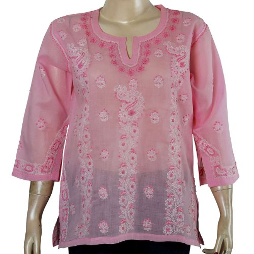 Kurti Womens Tunic Top Clothing in India Ladies Casual Fashion Size M (ctop440)