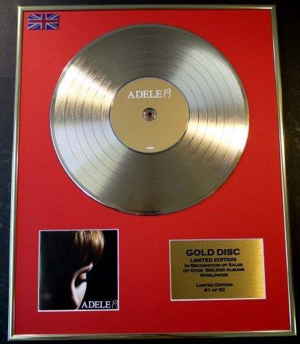 Adele Goldene Schallplatte Record
