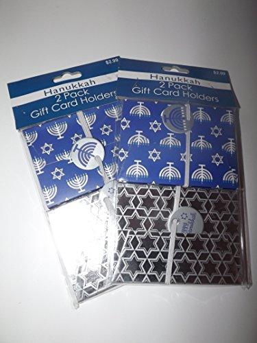 [해외]Hanakkuh 2 팩 선물 카드 소지자 - 2 패키지 (총 4 개)/Hanakkuh 2 Pack Gift Card Holders - 2 Packages (4 Total)