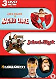 Jack Black Triple: Nacho Libre / School of Rock / Orange County [DVD]
