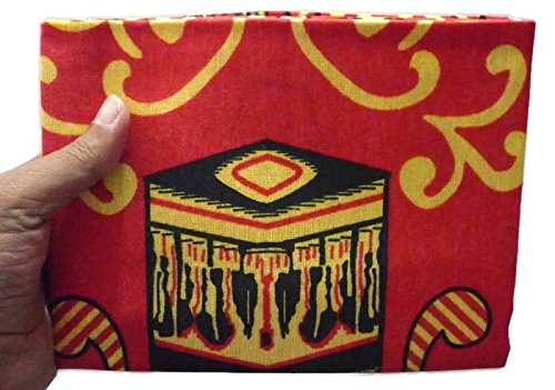 Islamic Portable Prayer Mat Muslim Janamaz Sajadah Namaz Sajjadah Thin - Red
