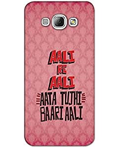 WEB9T9 Samsung Galaxy A3 Back Cover Designer Hard Case Printed Cover