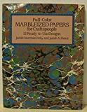 img - for Full Color Marbleized Papers for Craftspeople by Judith Saurman Kelly (1986-11-01) book / textbook / text book