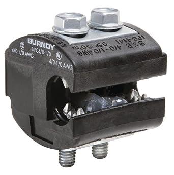 Burndy BIPC4/0-1/0 Burndy Insulation Piercing Connector, 4/0 - 1/0 AWG
