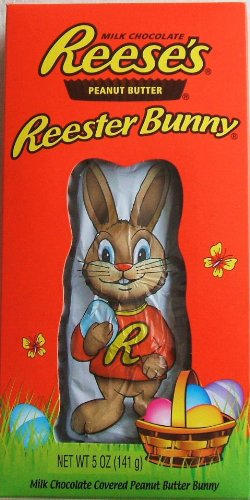 Reeses Peanut Butter Reester Bunny 5 Oz. Milk Chocolate Covered Easter Bunny