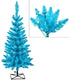 3' Pre-Lit Sky Blue Ashley Spruce Christmas Tree - Blue and Clear Lights
