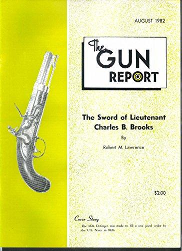 Gun Report Charles B Brooks 1826 Flintlock Deringer 8 1982