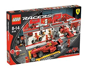 LEGO Racers 8144 Ferrari 248 F1 Team