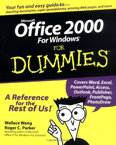 Microsoft Office 2000 For Windows For Dummies