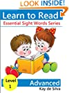 Essential Sight Words Level I - Advanced Readers (Set of 8 books) (Learn to Read Books)