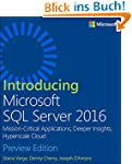 Introducing Microsoft SQL Server 2016...
