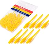 CUESOUL 2BA Soft Tip Dart Points 100 Count CSSTP006 Yellow